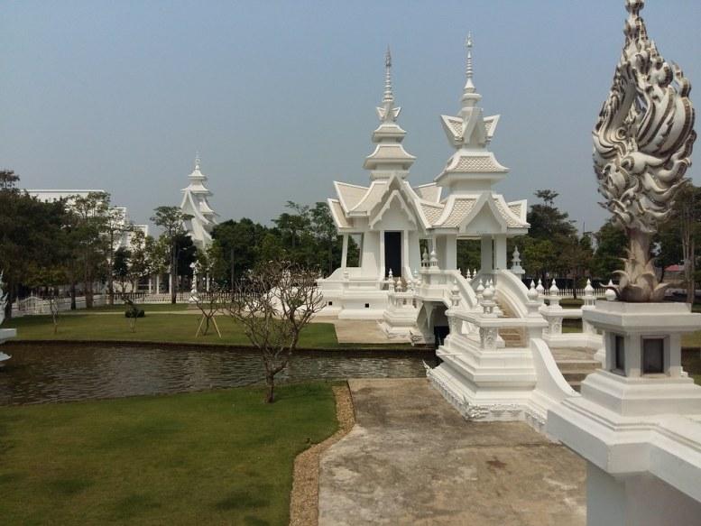 Wat Rong khun, Chiang Rai, Tailandia. 2016.