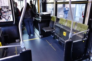 Port-side Wheelchair position