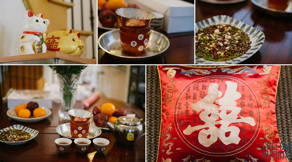 Contemporary Take On Traditional Chinese-Canadian Wedding Tea Ceremony Photography