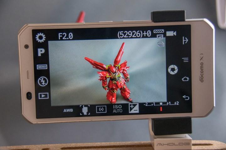 ARROWS NX F-02G / Camera FV-5 Lite