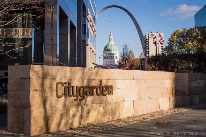Citygarden in St. Louis, Missouri