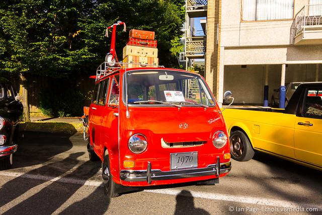 1970 Subaru Van Front