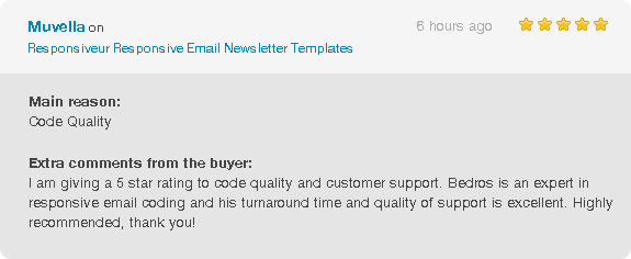 Responsiveur Responsive Email Newsletter Templates - 4
