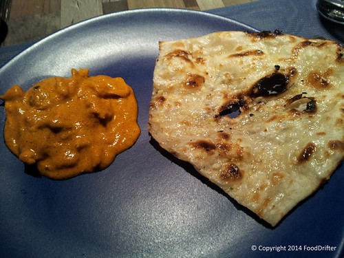 Butter Naan And Butter Chicken