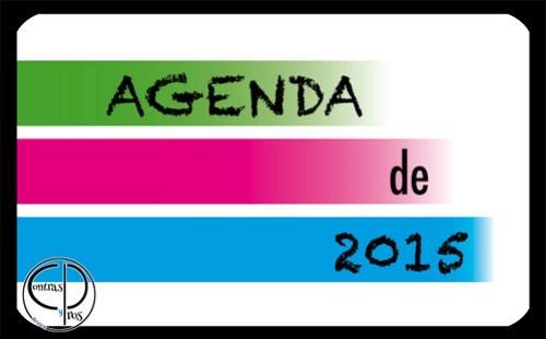 Agenda 2015 descargable e imprimible gratis