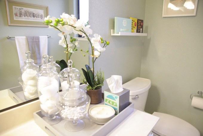 Bathroom Counter Decorating Ideas contemporary bathroom counter decor and sinkbathroom details