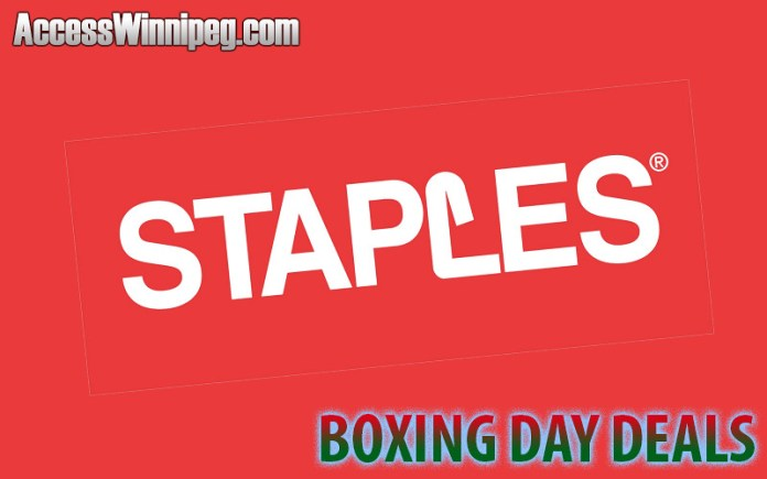 Staples Boxing Day Deals 2019