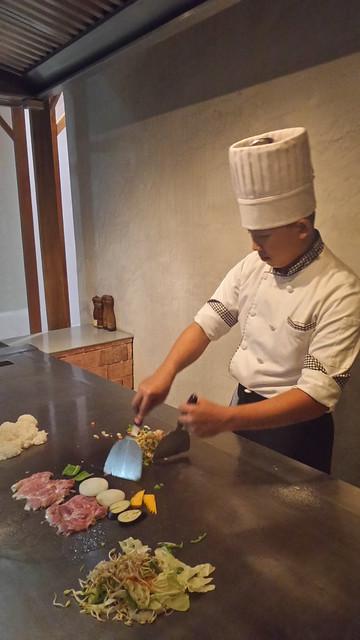 teppanyaki at Akira