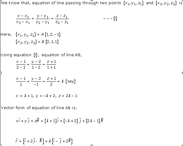 RD Sharma Class 12 Solutions Chapter 28 Straight Line in Space Ex 28.1 Q4