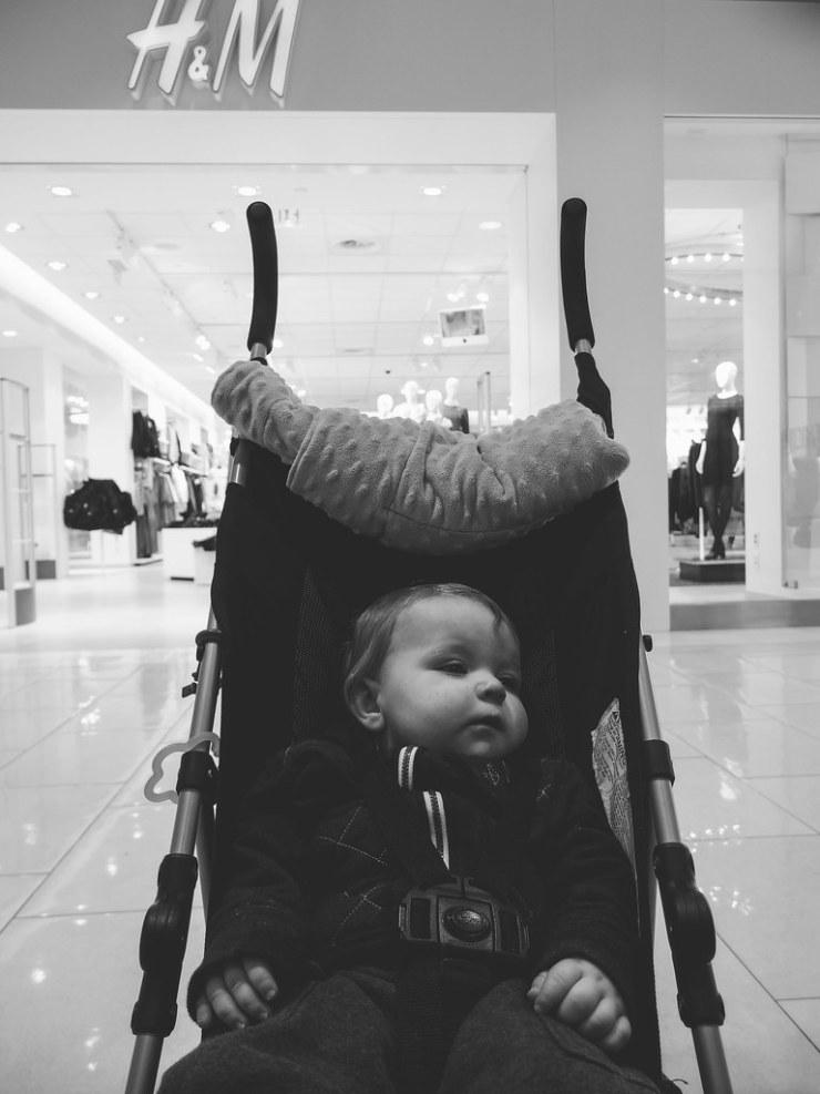 Ezra shopping
