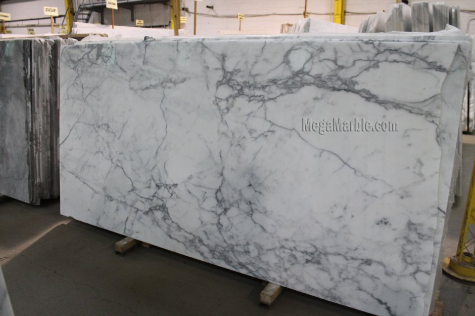 Statuary Marble Slab Natural Stone Marble Slabs 3-4