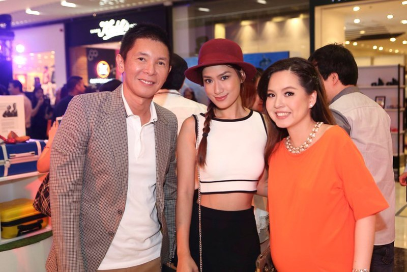 Richard Tiu, Janeena Chan, Managing Director for Melissa Joanna Co