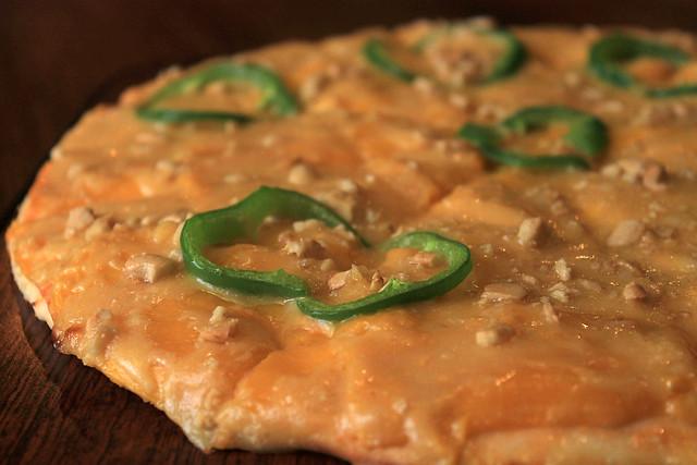 Mango Pizza at Pitstop Restaurant