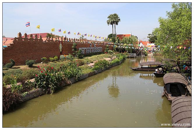 大城,大城水上市場ayutthaya floating,曼谷,泰國 @VIVIYU小世界