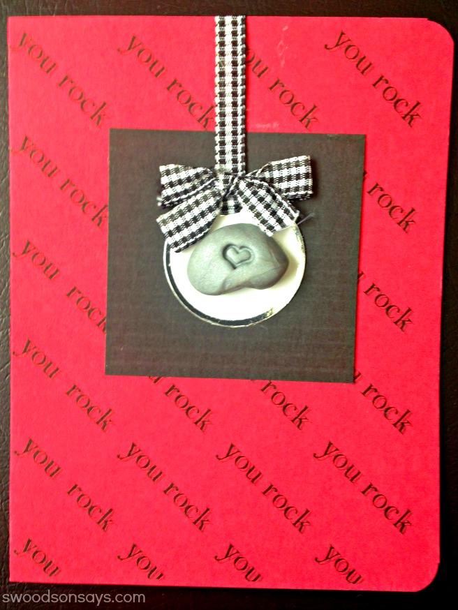 You Rock Valentine's Card