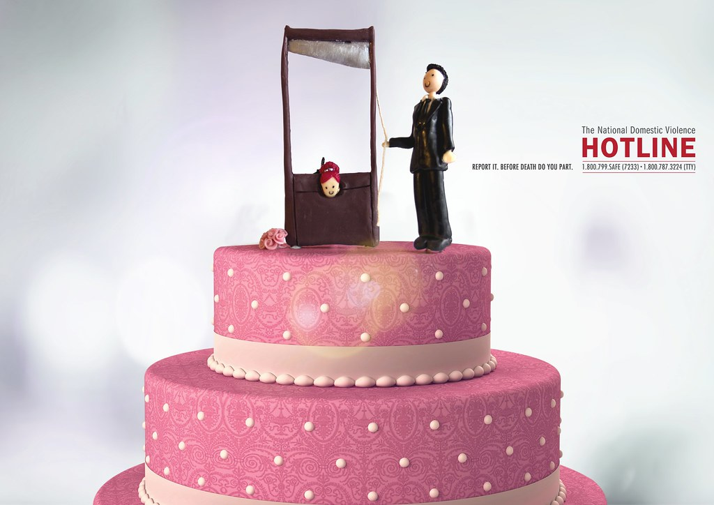 The National Domestic Violence Hotline - Wedding Cake 3
