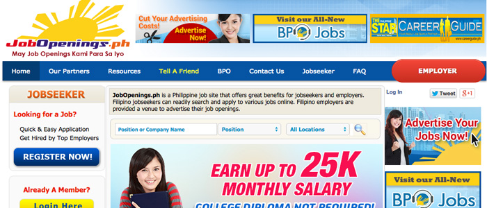 Job Search Websites in the Philippines - Job Openings
