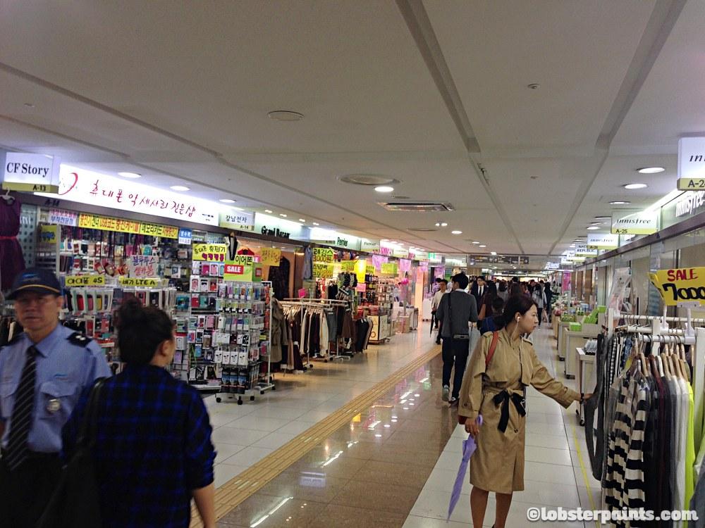 2 Oct 2014: Gangnam Station Underground Shopping Centre | Seoul, South Korea