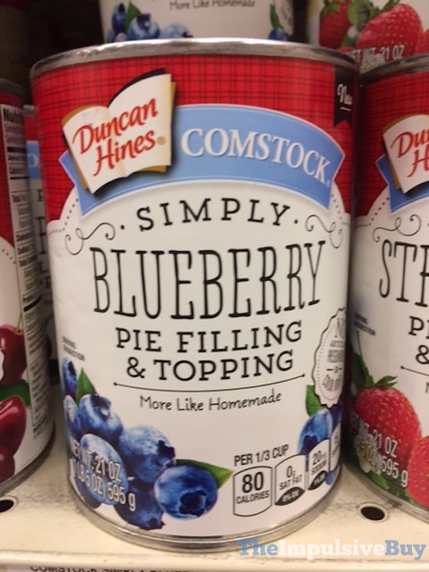Duncan Hines Comstock Simply Blueberry Pie Filling & Topping