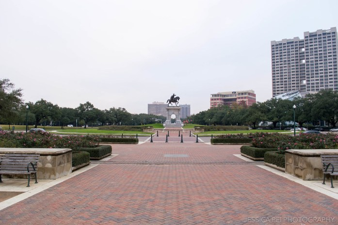 Sam Houston Statue Hermann Park Houston