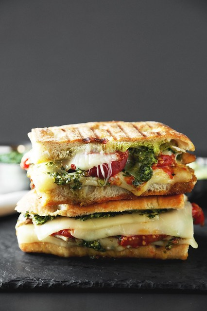 Grilled Chicken Pesto Panini The Candid Appetite