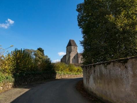 Church in Malval, Creuse