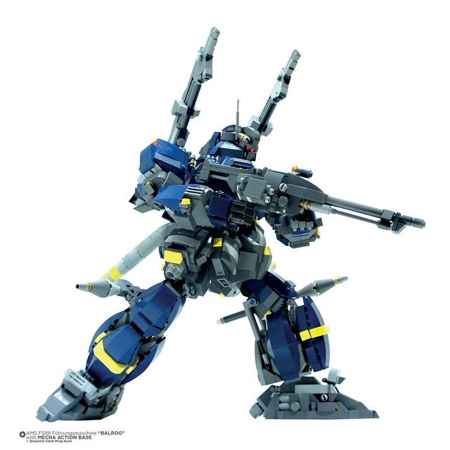 Gundam AMS FS18 Balrog Part 2 Series