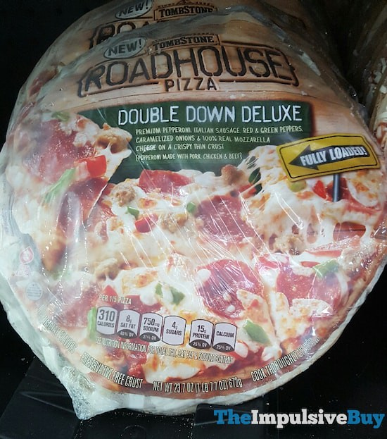 Tombstone Roadhouse Double Down Deluxe Pizza