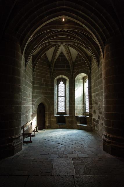 Interior of the Monastery