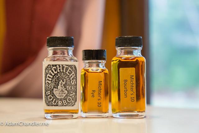 Bourbon & Rye Samples