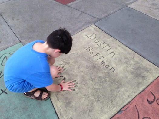 Shug, Dustin Hoffman at Hollywood Studios WDW