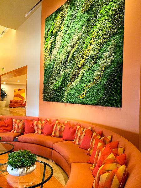 Hotel Irvine lobby