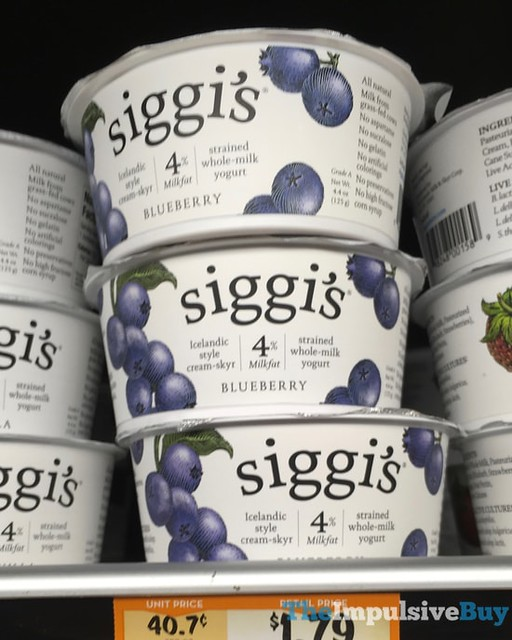 Siggi's Blueberry Whole-Milk Yogurt