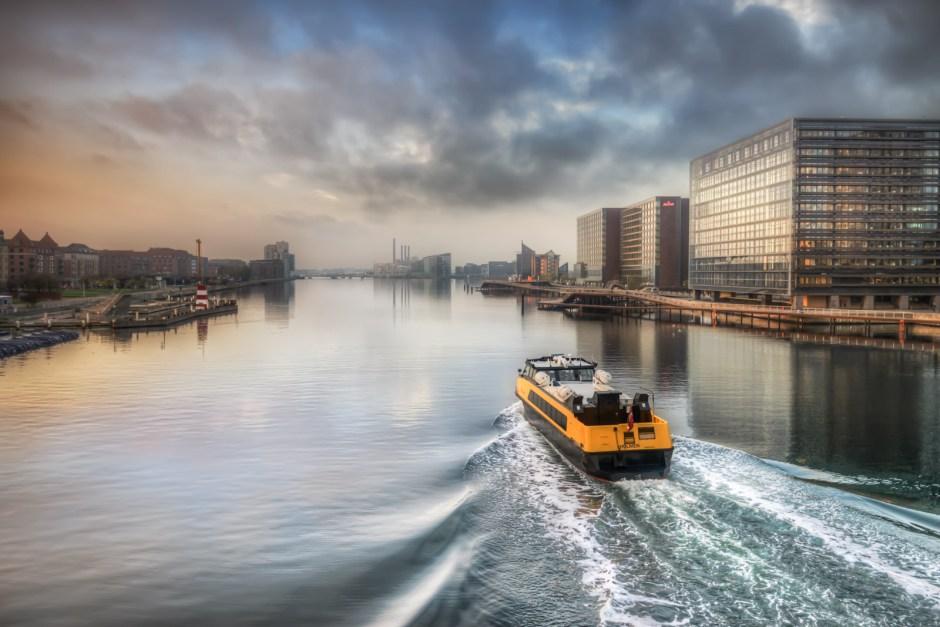 water bus Copenhagen