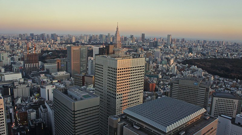 Tokyo Metropolitan Government Building Observatory. North Tower
