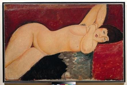 lienzo de Amedeo Modigliani