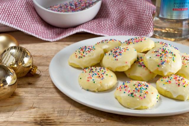italian anise cookies, anisette