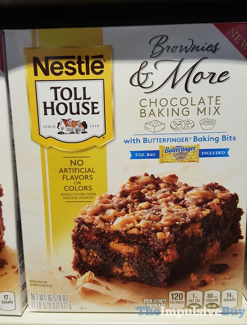 Nestle Toll House Brownies & More Chocolate Baking Mix with Butterfinger Baking Bits