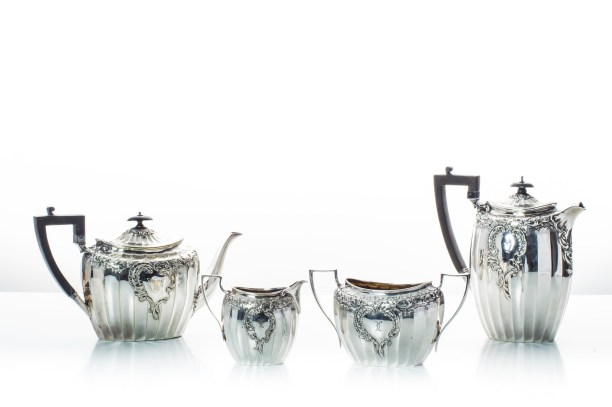 James Dickson & Sons tea and coffee set, begining of XXth century