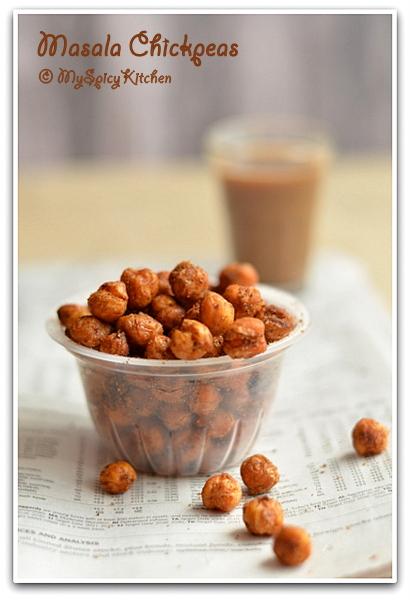 Masala Chickpeas, Spicy chickpeas,
