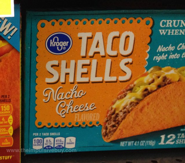 Kroger Nacho Cheese Taco Shells