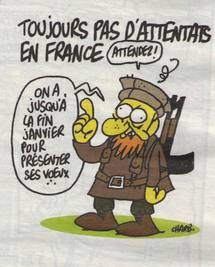 15a07 Charlie Hebdo Caricatura atentados Uti 425