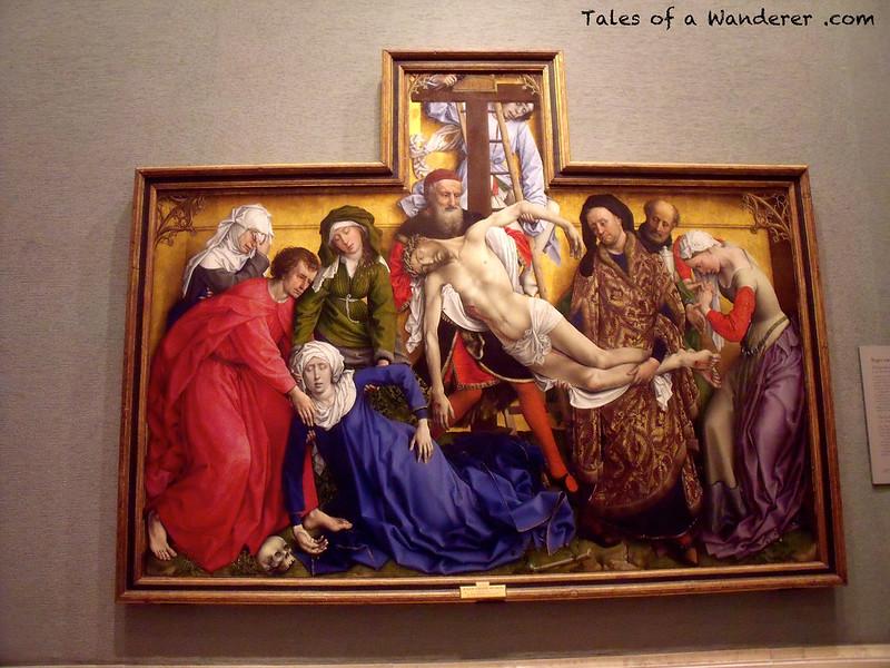 MADRID - Museo Nacional del Prado - El descendimiento de la cruz (Roger van der Weyden, ca. 1436)