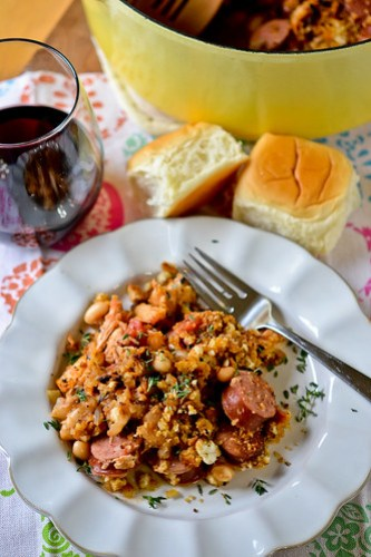 Chicken & Sausage Cassoulet-9