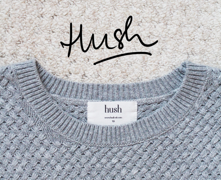 HUSH handwritten