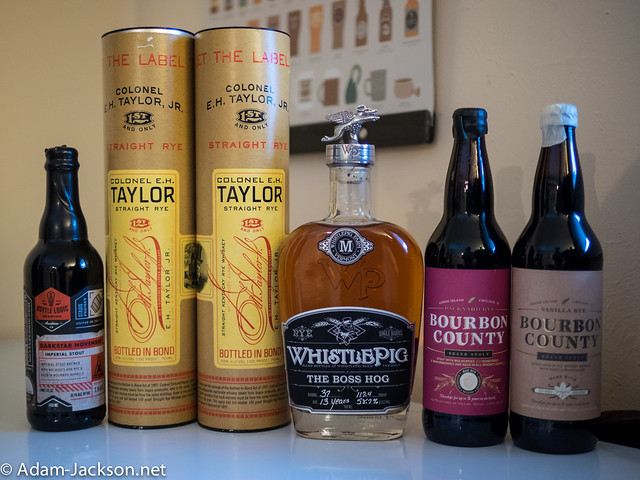 Beer & Whiskey Haul - December 22nd