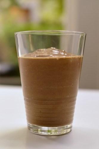Cacao maca smoothie