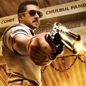 ChulBul Pandey Salman Khan Poster Movie HD Wallpaper - Stylish HD Wallpapers.