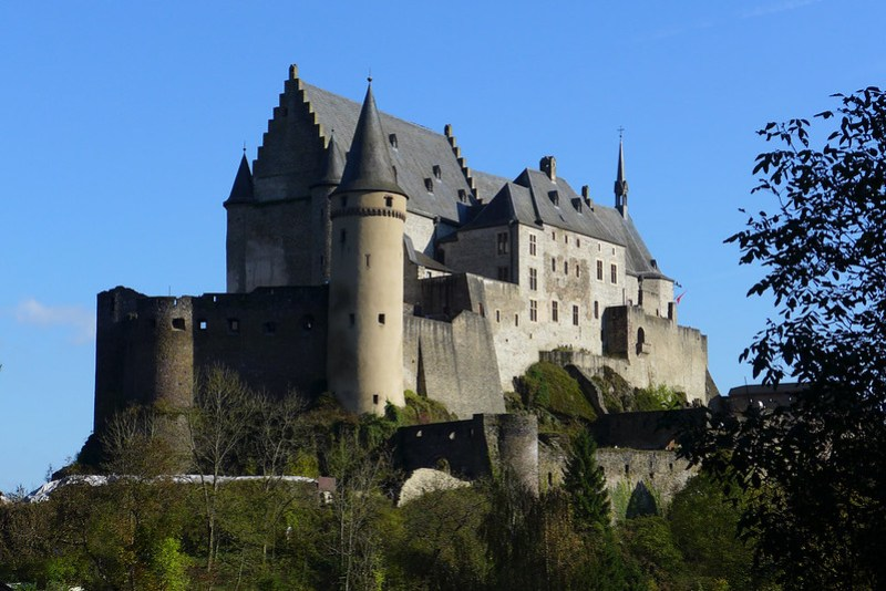 Vianden (Luxembourg) - 06 - Château