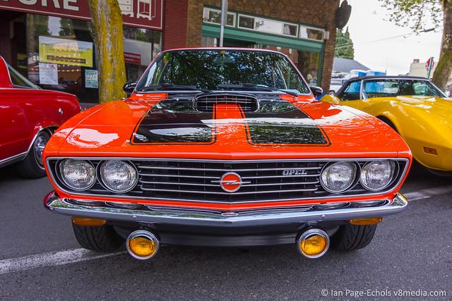 Orange & Black Opel Front